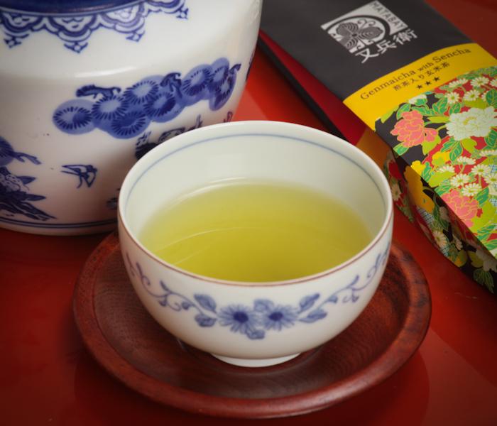 zielona herbata Genmaicha