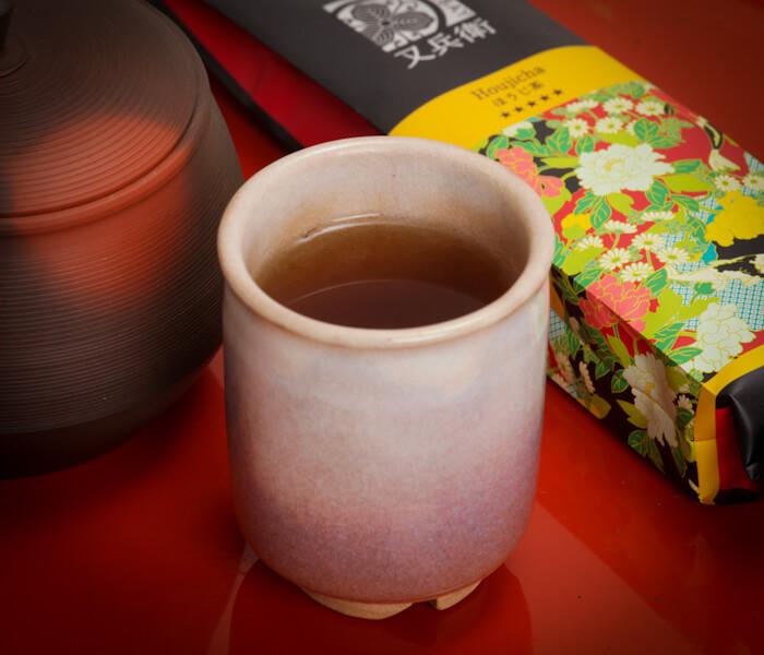 zielona herbata hojicha, hojicha