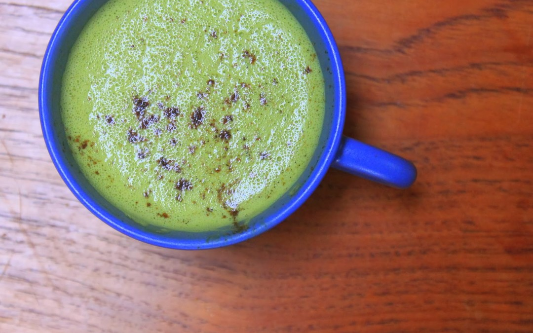 Antioxidant Rich Coconut Milk Matcha Latte