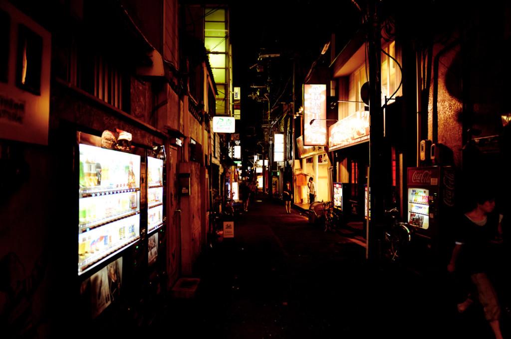 Pontocho by night