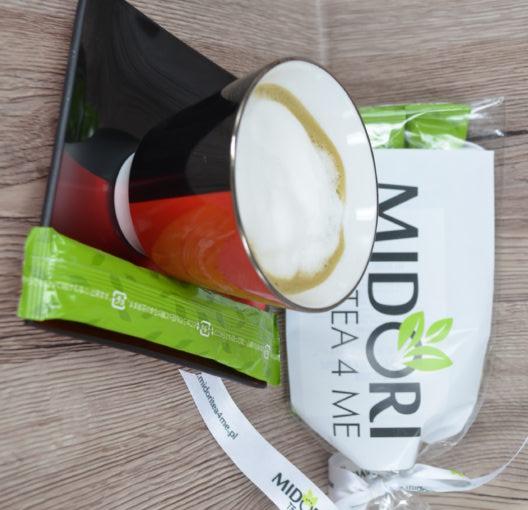 Matcha latte Napój z zielonej herbaty