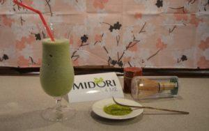 koktajl z zielonej herbaty, przepis na koktajl z zielonej herbaty, zielona herbata koktajl, jak zrobić koktajl z zielonej herbaty