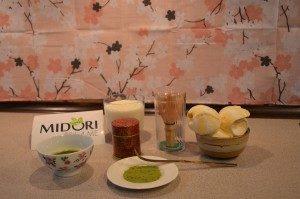 koktajl z zielonej herbaty, przepis na koktajl z zielonej herbaty, zielona herbata koktajl