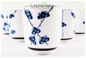 czarka w kwiatki, czarka do herbaty, czarka, japońska czarka