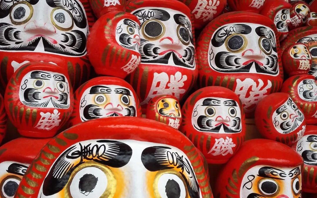 Daruma- japoński talizman
