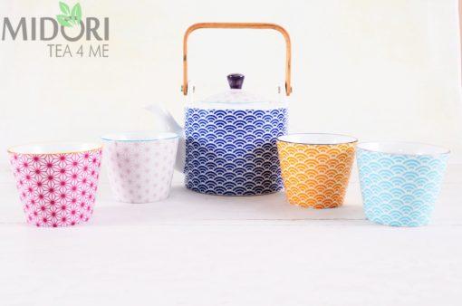komplet do herbaty, tokyo design, tokyo design studio, sklep z ceramiką, ceramika sklep, wave tea set