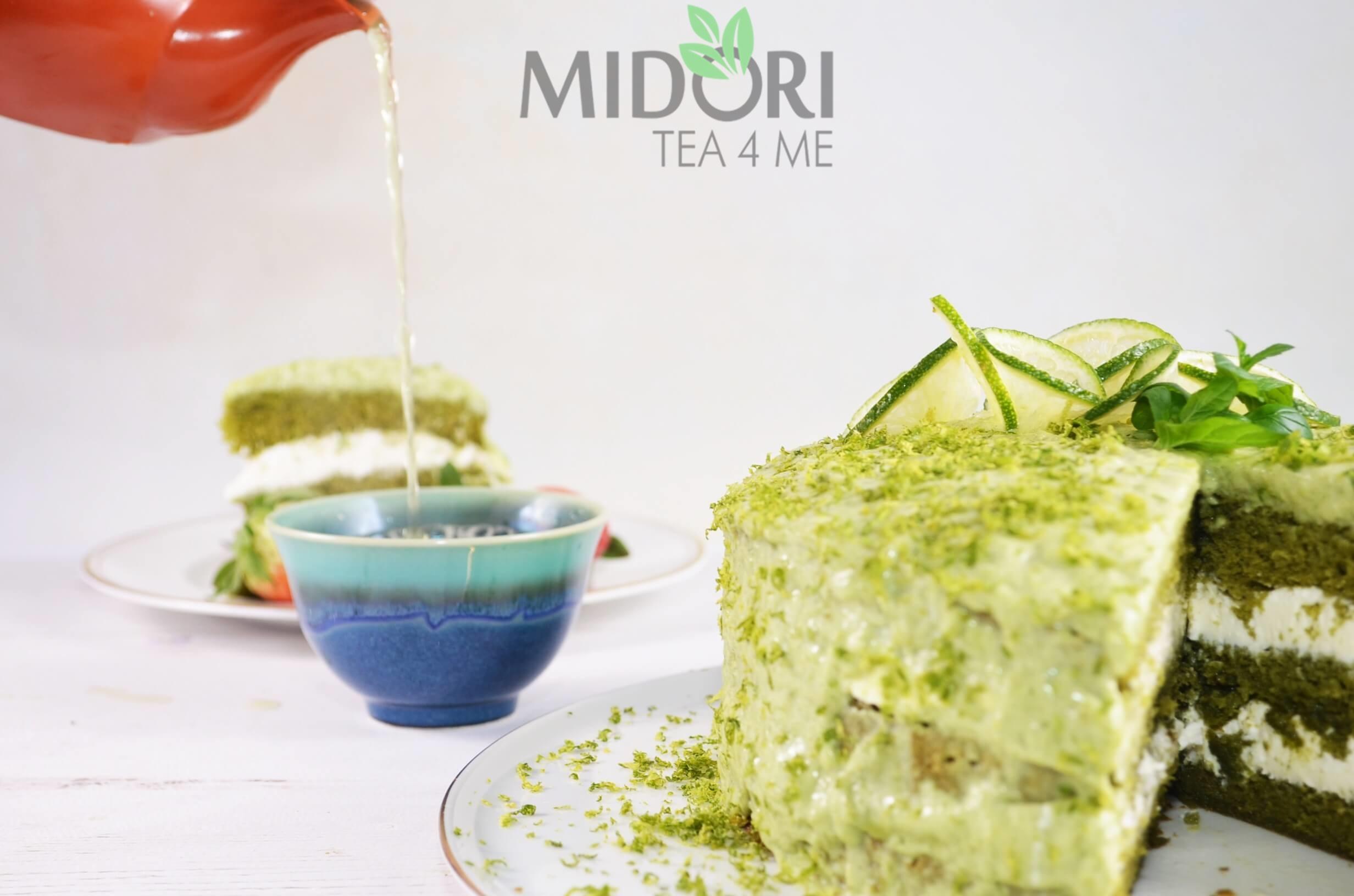 tort matcha, tort mojito, zielony tort