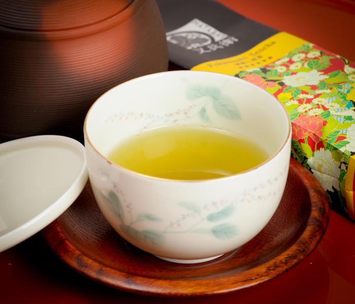 fukamushi sencha, japońska herbata