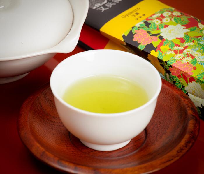Zielona herbata Gyokuro, gyokuro superior, herbata gyokuro superior, superior, herbata superior