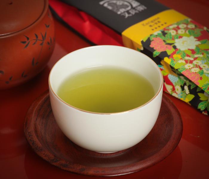zielona herbata karigane, karigane, zielona herbata