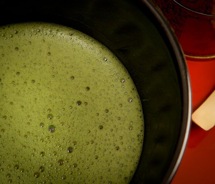 zielona herbata matcha, matcha usucha, usucha