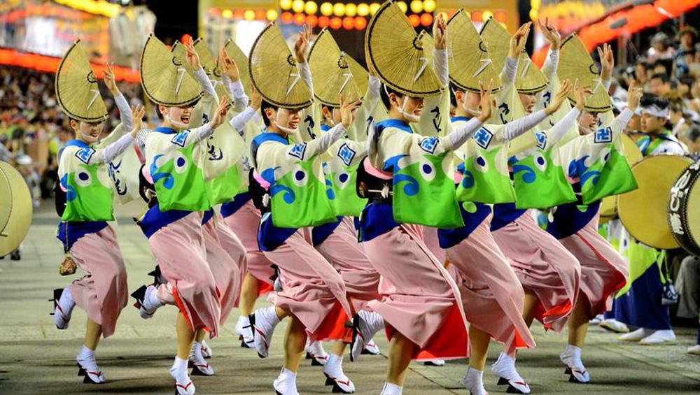 Festiwal Awa Odori, japoński festiwal