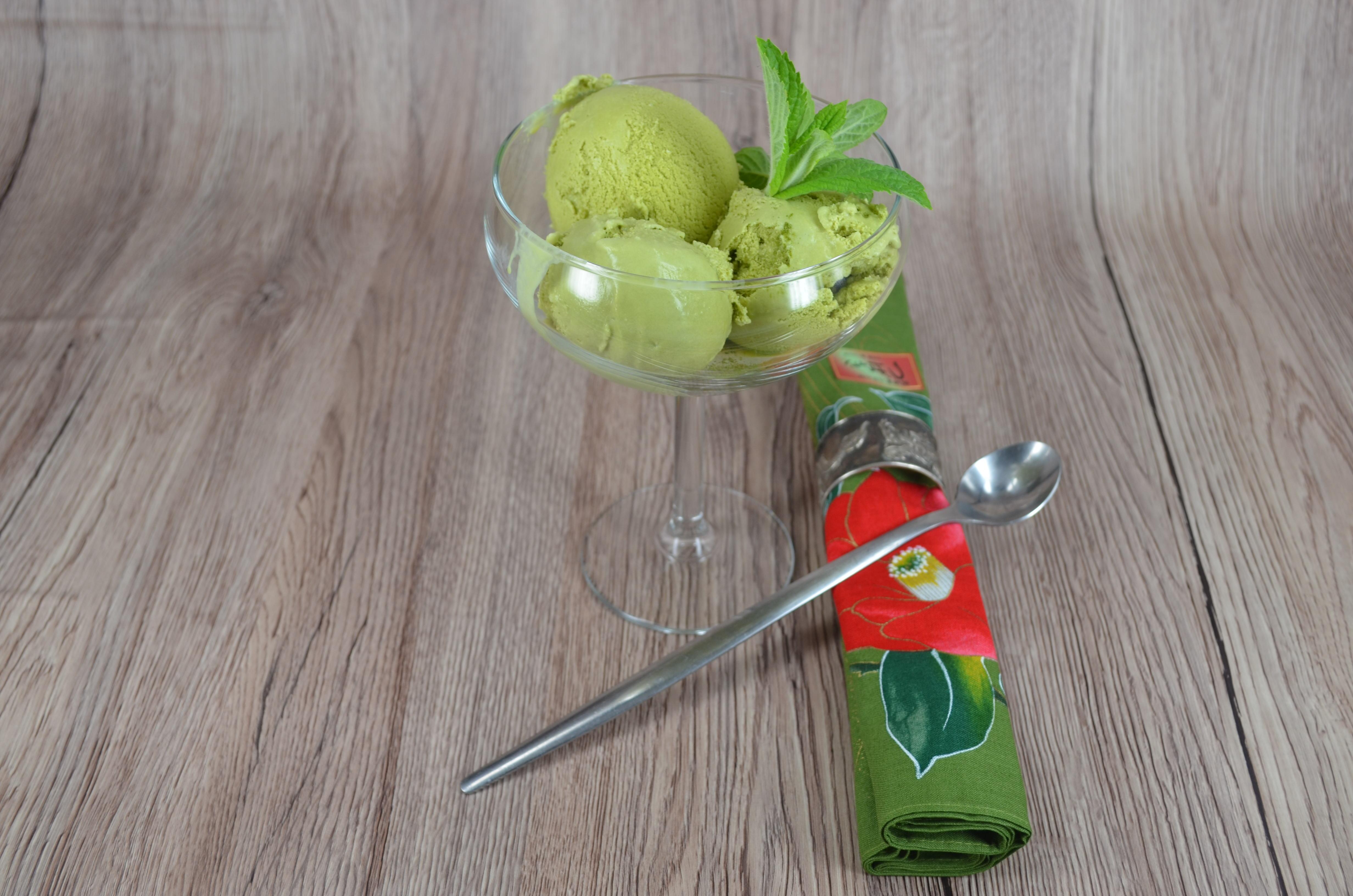 ciastka i lody z zieloną herbatą 057