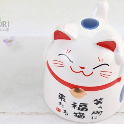 japoński kubek, kubek kotek, LUCKY CAT