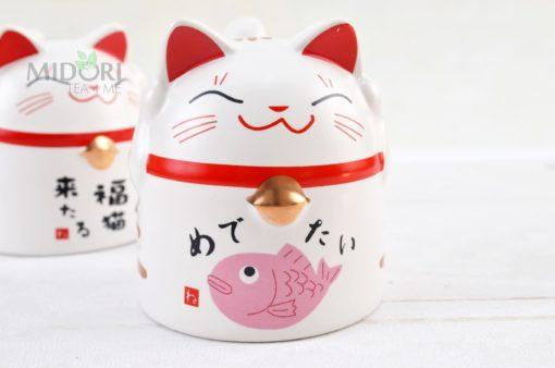 japoński kubek kotek, japoński kubek do herbaty, kubek kotek