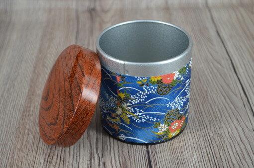 pojemnik metalowy, pojemnik metalowy na herbatę