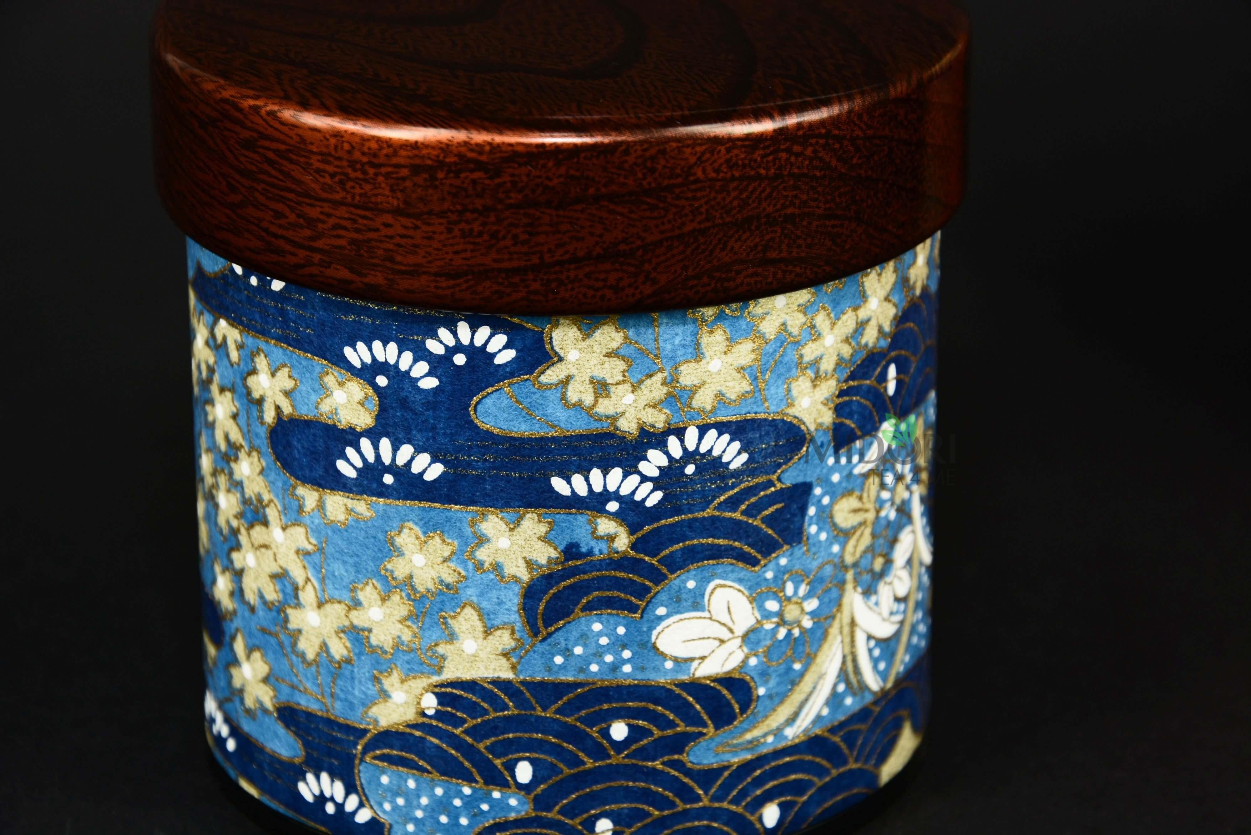 japoński pojemnik do herbaty, pojemnik do herbaty