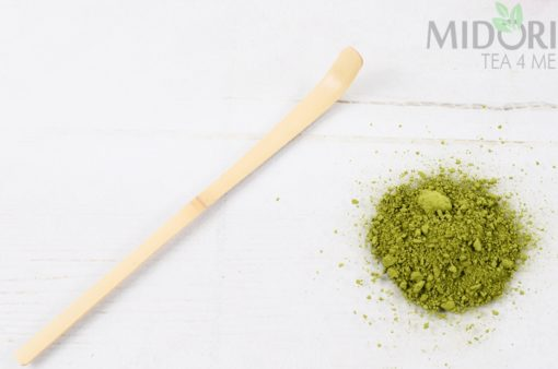 bambusowa łopatka, łopatka do herbaty, hashaku