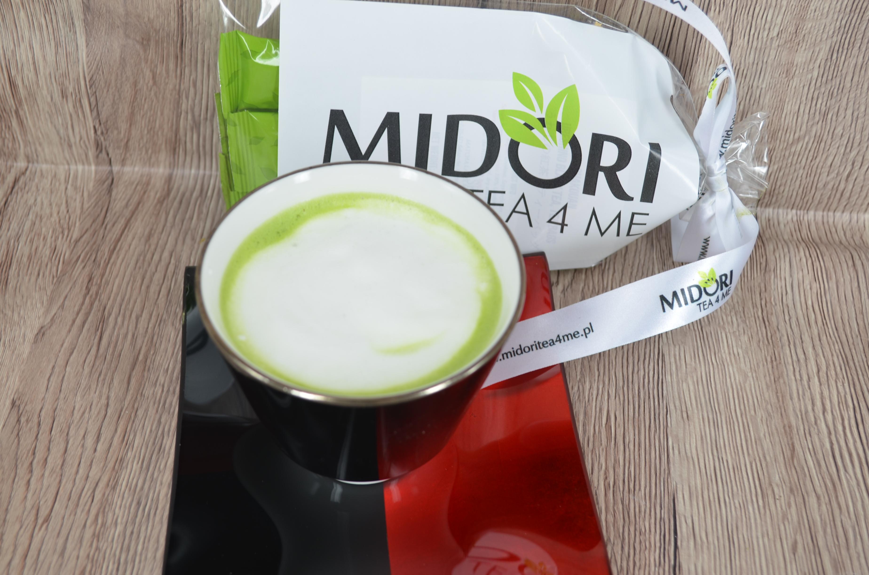 Napoje na bazie zielonej herbaty