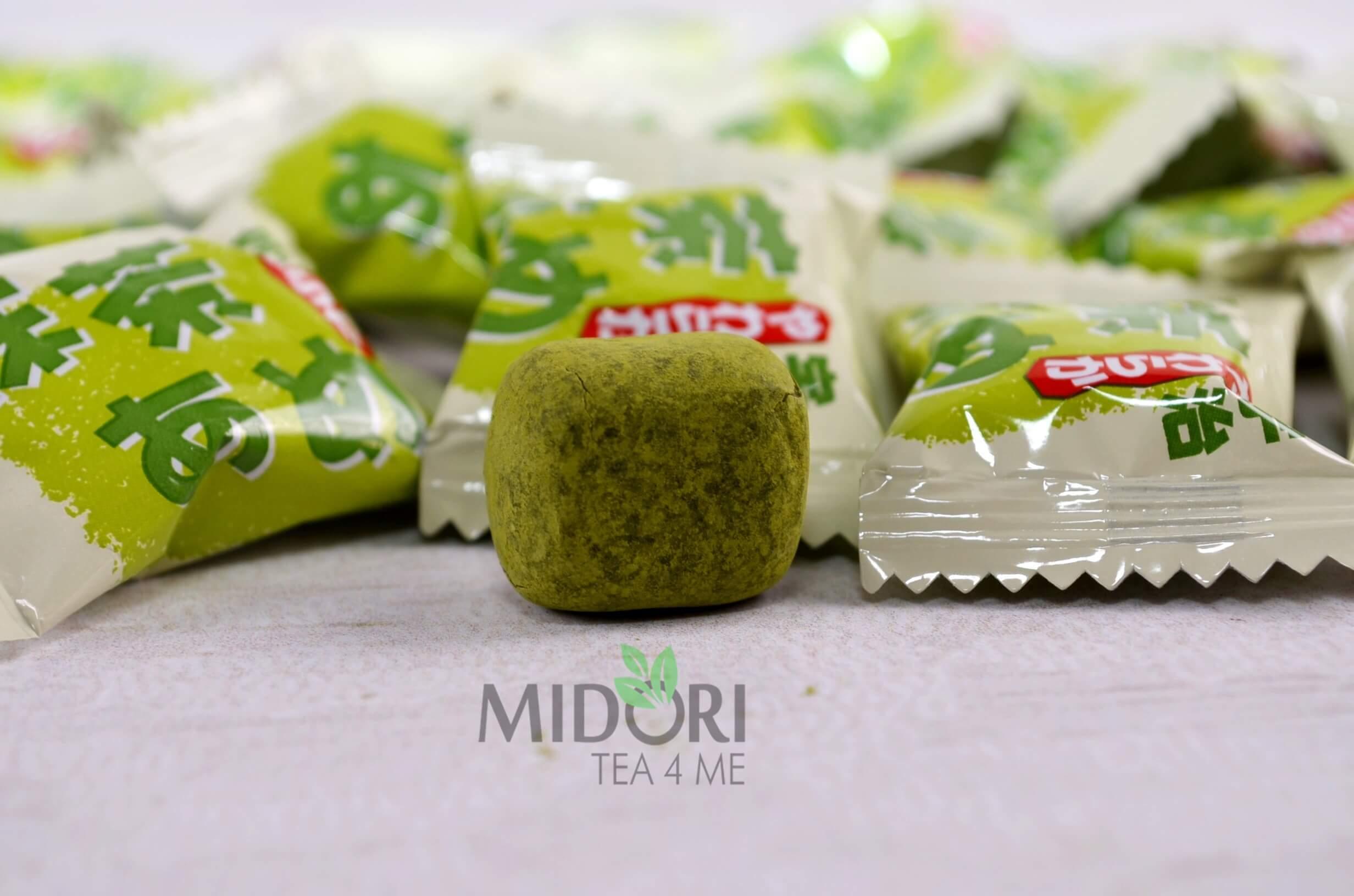 japońskie cukierki, cukierki matcha, cukierki z zieloną herbatą, japońskie cukierki, matcha candy