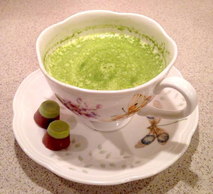Latte Zielona Herbata