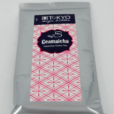 genmaicha, genmaicha tokyo, zielona herbata genmaicha