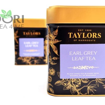 Herbata Earl Grey liściasta, Herbata Taylors of Harrogate, earl grey liściasta, liściasta herbata earl grey, ekskluzywna herbata