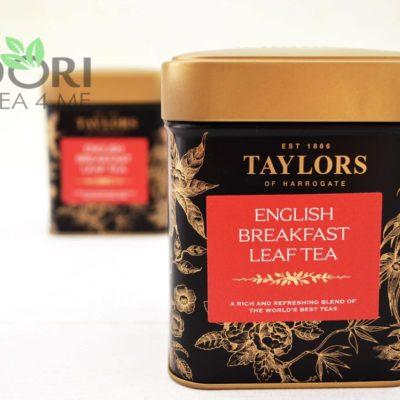 Herbata English Breakfast Liściasta, Herbata Taylors of Harrogate, herbata liściasta, czarna herbata liściasta, liściasta czarna herbata, eksluzywna herbata