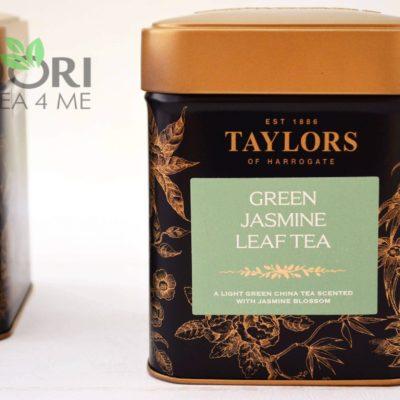 herbata zielona jaśminowa, Herbata Taylors of Harrogate, herbata jasminowa, jaśminowa herbata, herbata zielona liściasta, herbata liściasta zielona