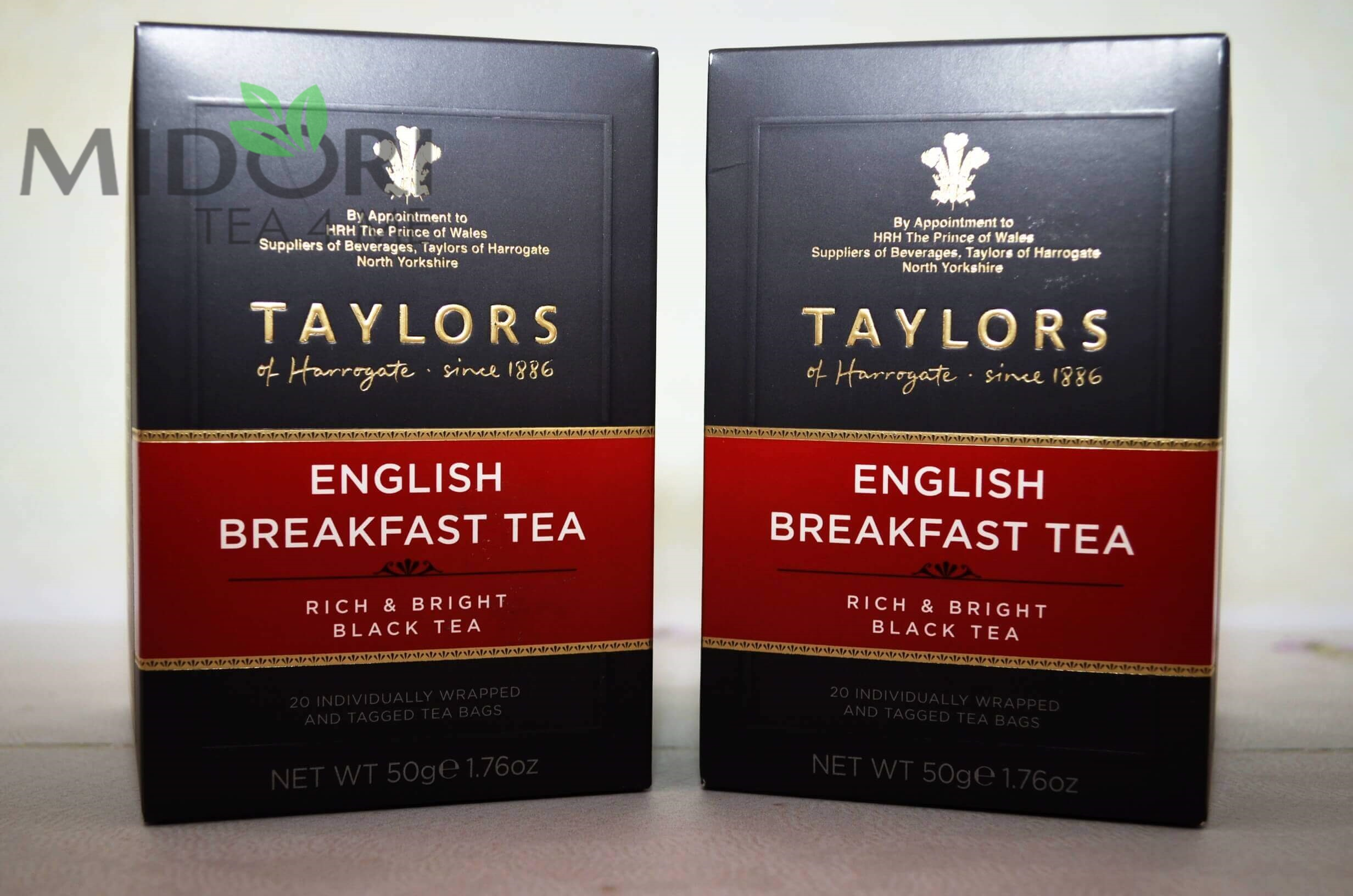 taylors of harrogate, herbata ekspresowa, herbata czarna, english breakfast tea, Taylors of Harrogate czarna