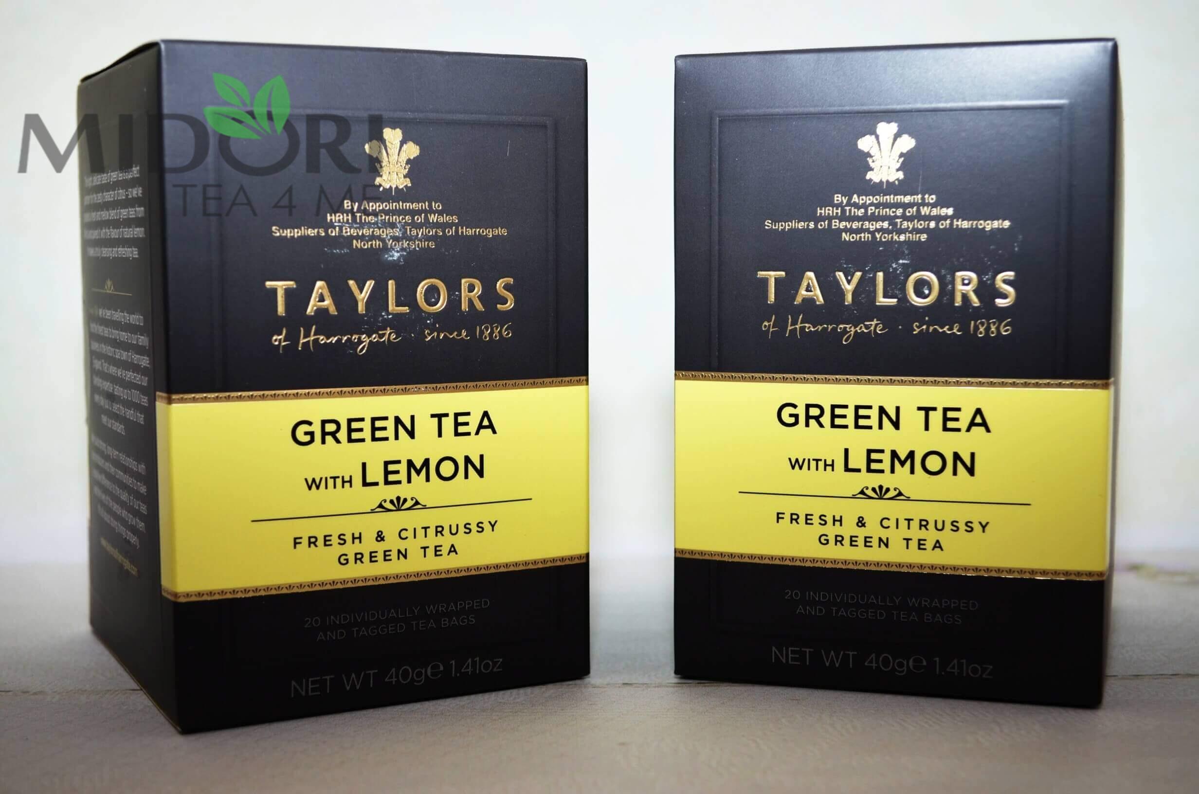zielona herbata z cytryną, herbata z cytryną