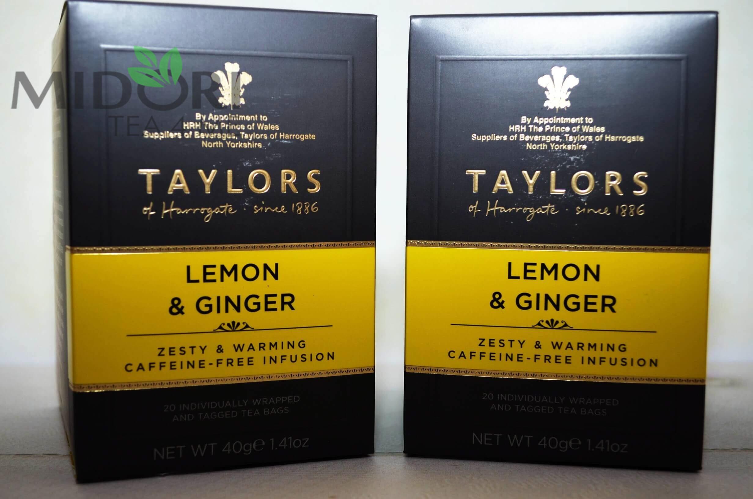 herbata taylors, taylors, tayors of harrogate, cytrynowo-imbirowa