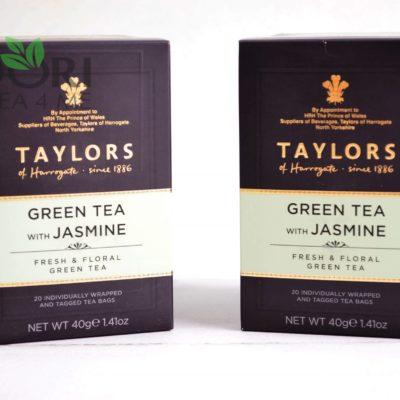 zielona herbata z jaśminem, herbata z jaśminem, herbata Taylors of Harrogate, ZIELONA HERBATA JAŚMINOWA, JAŚMINOWA HERBATA TAYLORS