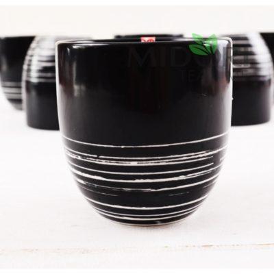 czarki do herbaty, czarne czarki, tokyo design, czarki tokyo design