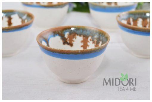 czarka ręcznie malowana, czarka do herbaty