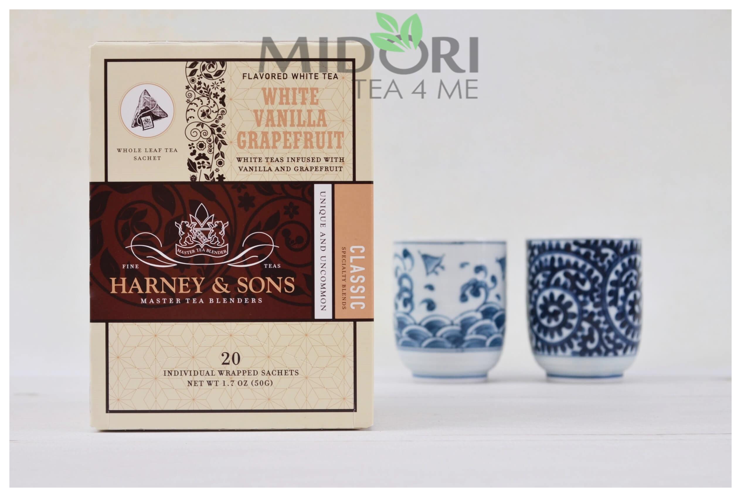 biała herbata, herbata z wanilią i grejpfrutem