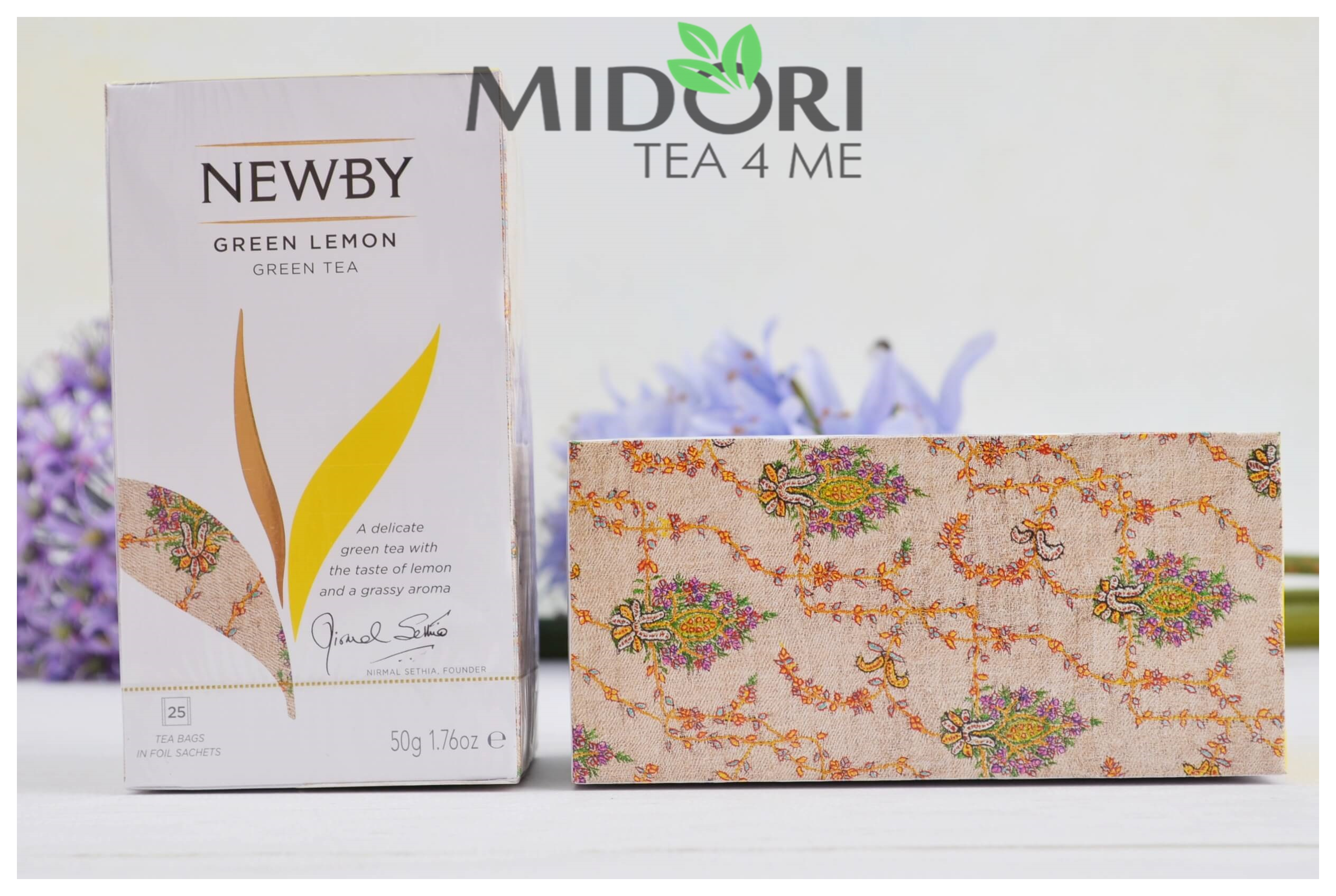 zielona herbata z cytryną