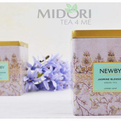 jasmine blossom, zielona herbata jaśminowa