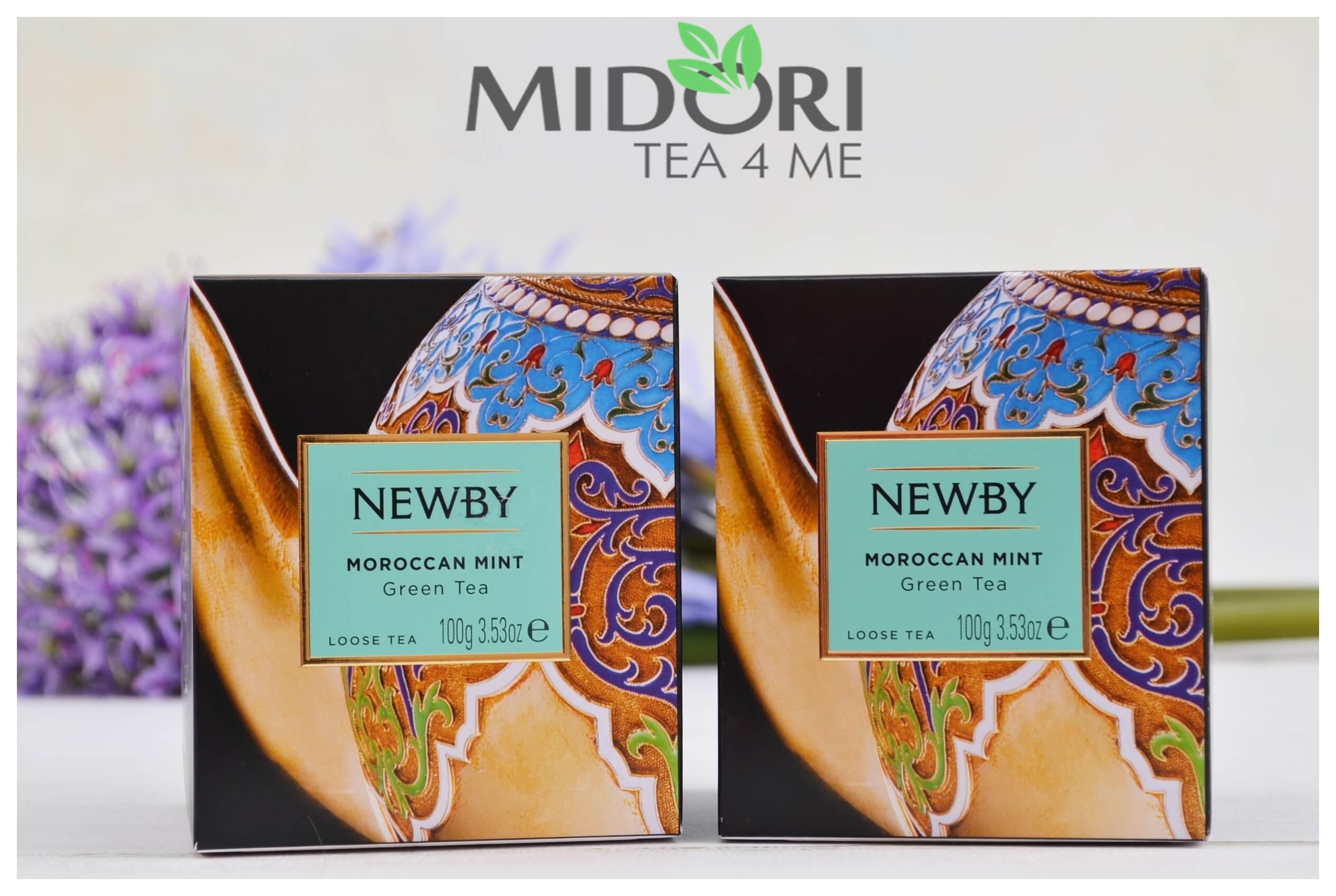 moroccan mint, zielona herbata z miętą