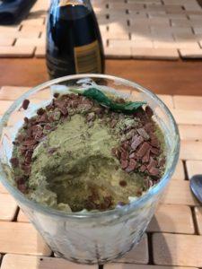 tiramisu z restauracji, zła jakość matcha