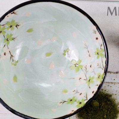 Green Cosmos Bowl, Miski kwiaty wiśni, Tokyo Design Studio