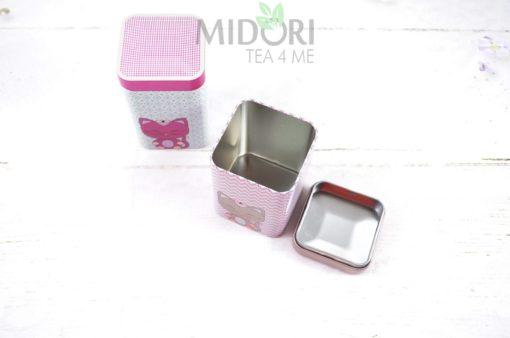 """puszki """"miss miew"""", puszki na herbatę, puszki na kawę, puszki na słodycze, metalowe puszki na herbatę"""