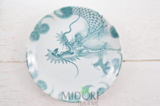 talerz płaski dragon, talerz dragon, talerz tokyo design studio