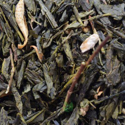 Zielona herbata sencha z bergamotką