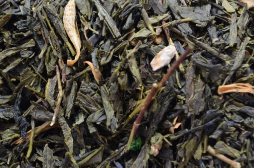 Zielona herbata sencha z bergamotką, sencha bergamotkowa, zielona herbata z bergamotką, bergamotkowa herbata, dobra zielona herbata