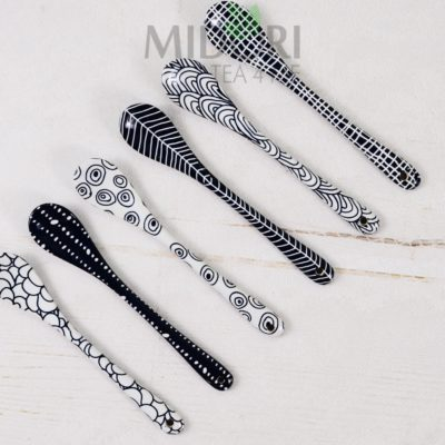 porcelanowe łyżeczki, łyżeczki tokyo design studio, łyżeczki porcelanowe, łyżeczki z porcealny