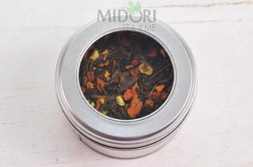 Zielona herbata z dynią, Zielona herbata z dynią, pomarańczą i grejpfrutem