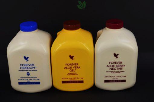 forever aloe vera gel, miąższ z liści aloesu zwyczajnego, forever suplement diety, forever suplementy diety