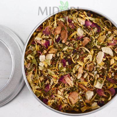 Mieszanka ziołowa ananas-mango, Herb tea blend Sunny Herbs