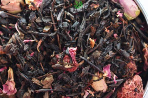 Oolong Think Pink, Herbata Oolong Malinowo-Różana, Oolong Malinowo-Różana, malinowy oolong, ulung, sklep z herbatą, herbata sklep
